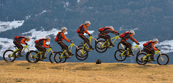 How to bunny hop with a mountain bike