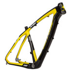 How are mountain bike frames made